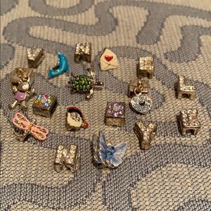Charm Bracelet Charms from the 90's